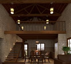 Casa loft rústicas