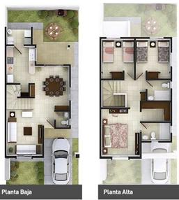 Plano casa dos niveles