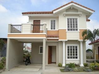 Fachada frontal casa